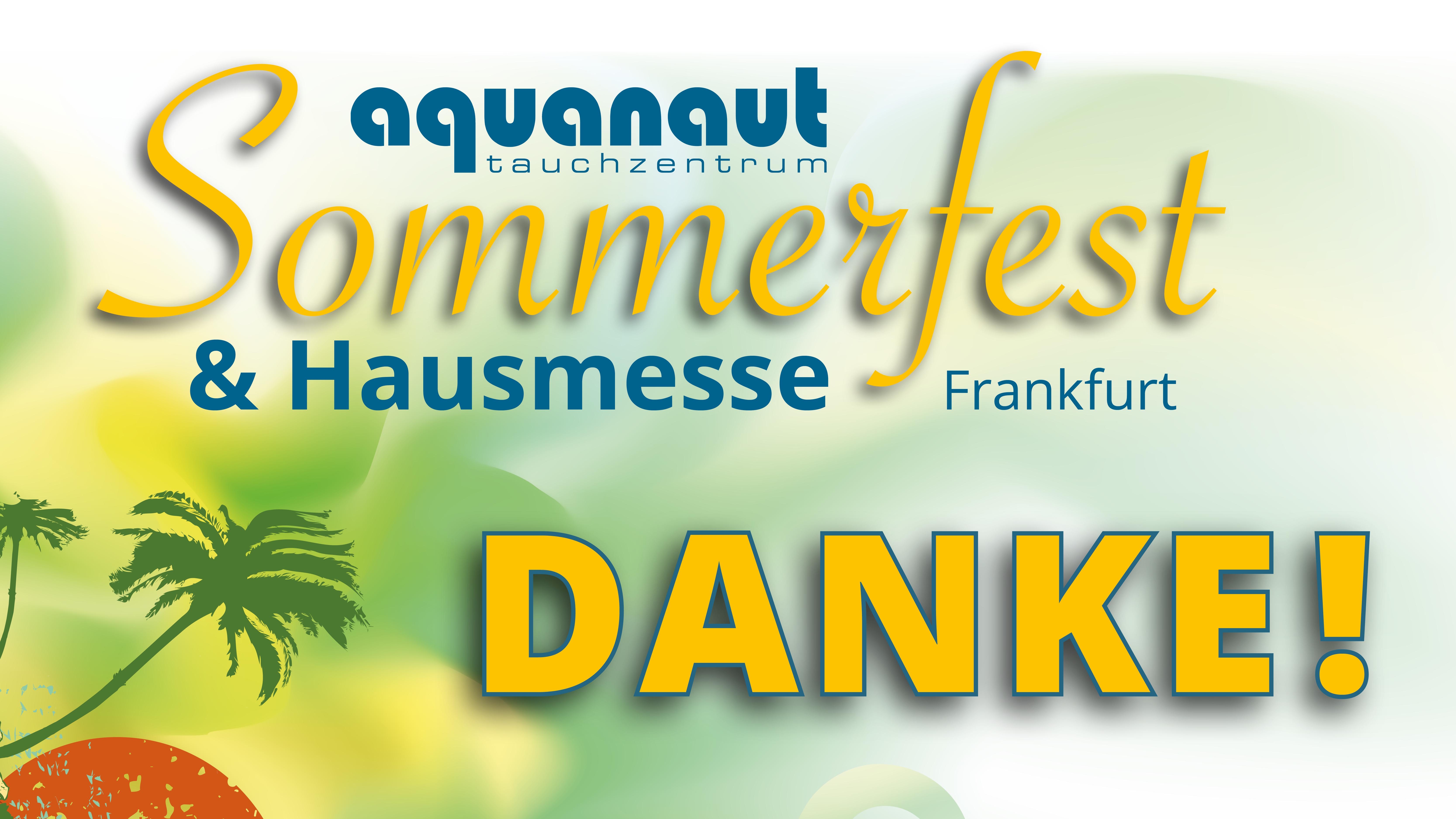 Sommerfest und Hausmesse in Frankfurt – das war eine Party!